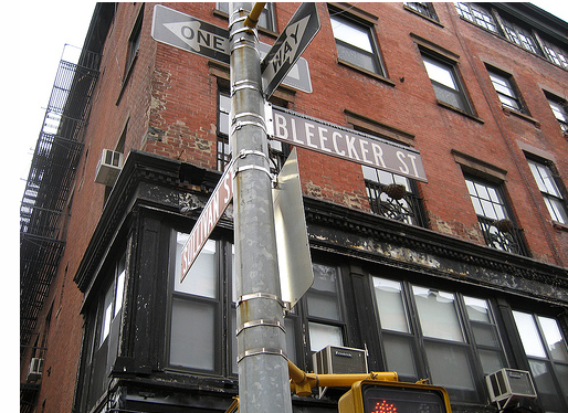 Countdown to New York 16 days to go…Bleecker Street
